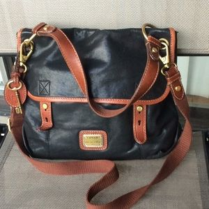 Fossil vintage cross body bag